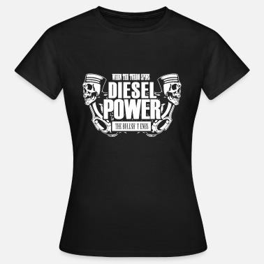 Diesel Power Diesel Power Shirt - T-shirt Femme
