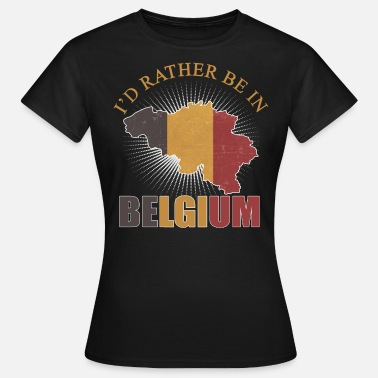 National Colours Belgium nationality - Women's T-Shirt