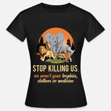 21c4060dac Protección De Animales Camiseta de protección animal para animales. -  Camiseta mujer