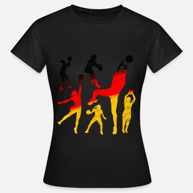 Handball Fan Handball Team Deutschland Fan Shirt - Frauen T-Shirt