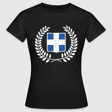 Aspie Greece Greek flag aspis gift - Women's T-Shirt