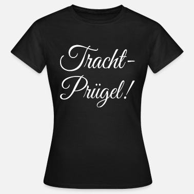 Traditionel Traditionelle Pruegel - Dame-T-shirt