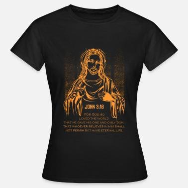 f6067d5c94 Biblia Cristo Jesús Biblia Dios Regalo Cristo - Camiseta mujer