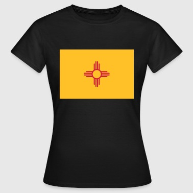 Flag New Mexico - Vrouwen T-shirt