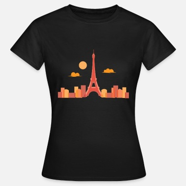Eiffel Tower Paris Eiffel Tower - Women's T-Shirt