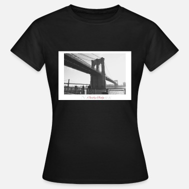Brooklyn Bridge Brooklyn Bridge (Poster) - Dame-T-shirt