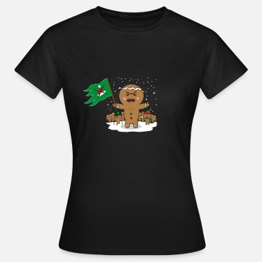 Anti-christmas Gingerbread Revolution Anti Christmas Gift - Women's T-Shirt