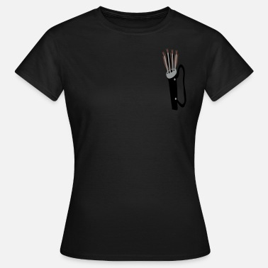 Archery-longbow-medieval-design quiver and arrows fletcher's pride by patjila - Women's T-Shirt