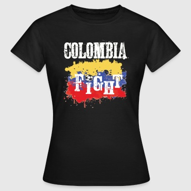 Vêtement Colombie Championnat de football de football Objectif Nation Penalty Colombie - T-shirt Femme