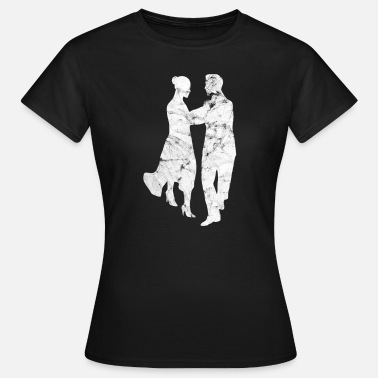 Danza Clásica Dancing couple dancing dancingrs couple - Camiseta mujer