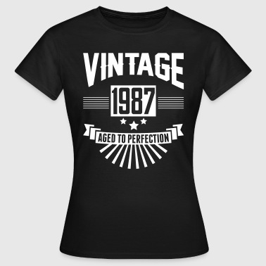 VINTAGE 1987 - Aged To Perfection - Women's T-Shirt
