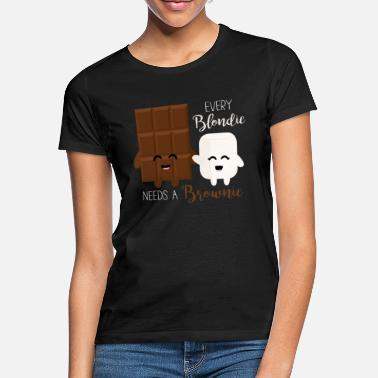Blondi Blondie - Brownie - Frauen T-Shirt