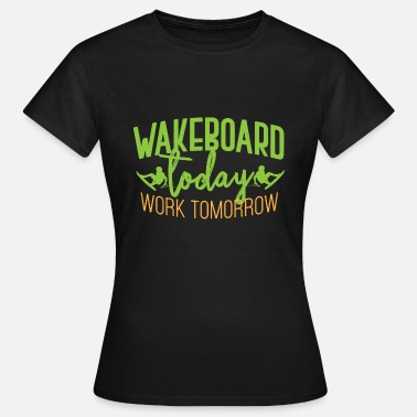Wakeboard Wakeboard - Dame-T-shirt