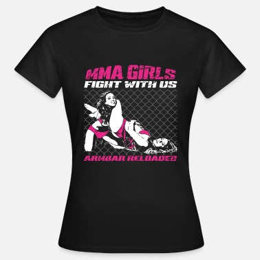 MMA Girls - Fight Wear - Mix Martial Arts - BJJ - Vrouwen T-shirt