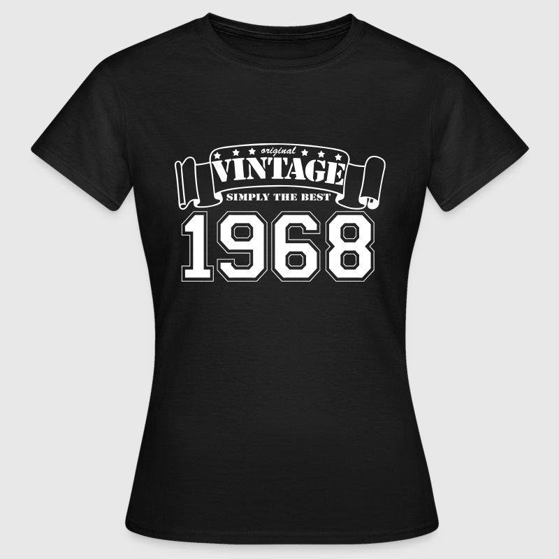 1968 original vintage - Frauen T-Shirt