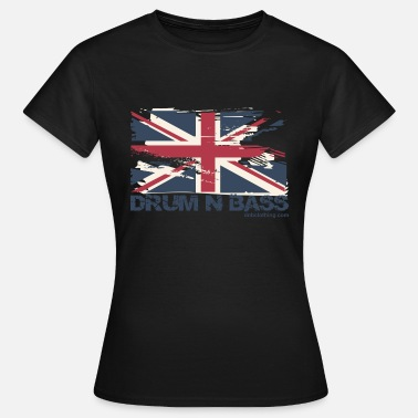 Dnb And UK DNB Flag - Women's T-Shirt