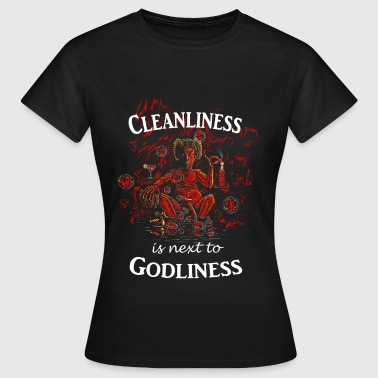 Behelsibubbles - Satan in the Bath - Women's T-Shirt