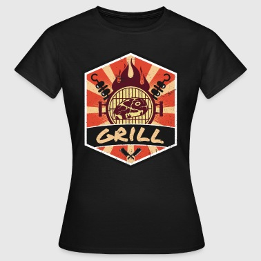 Bbq Supply BBQ BBQ Propaganda - Women's T-Shirt