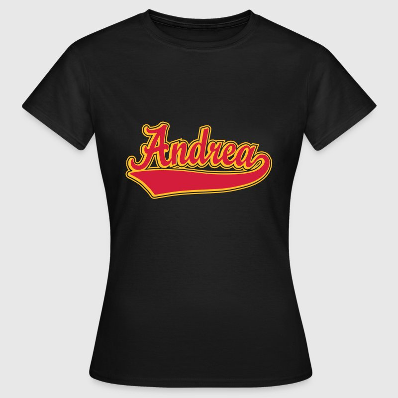 Andrea - Name as a sport swash - Women's T-Shirt