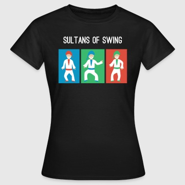 Sultans of swing - Vrouwen T-shirt