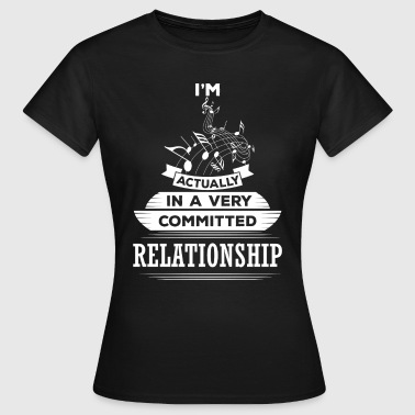 I Am Music Actually In A Very Commited Relationsh - Women's T-Shirt