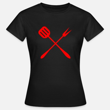 Barbecue Aansteker Barbecue set Barbecue tang Barbecue barbecue Barbecue - Vrouwen T-shirt