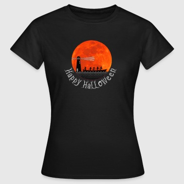 Rowing with Witches - Women's T-Shirt