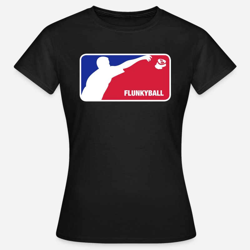 Ball T-Shirts - Flunkyball - Women's T-Shirt black