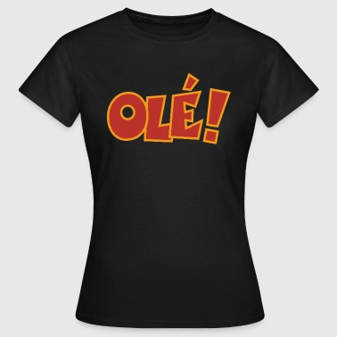 Olé Colors - Camiseta mujer