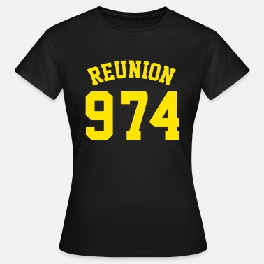 Nation REUNION 974 - T-shirt Femme