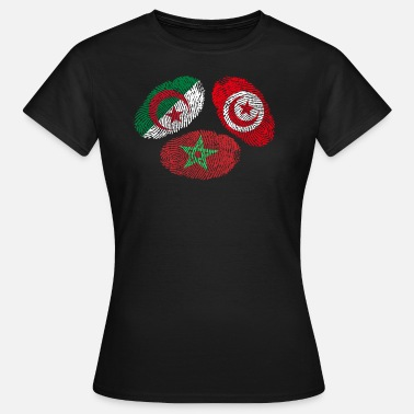 Maghreb Morocco MAGHREB UNITED المغرب LOGO - Women's T-Shirt