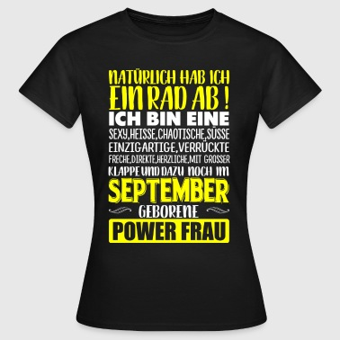 Einhorn Rad Ab SEPTEMBER - Rad ab  - Frauen T-Shirt