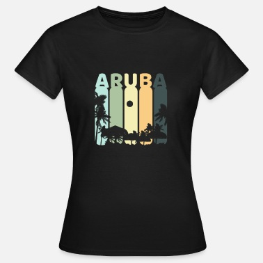 Aruba Aruba retro - Women's T-Shirt