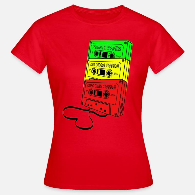 Spreadshirt Mujer School Old Raggamuffin Reggae Camiseta x1IzXfn5qw