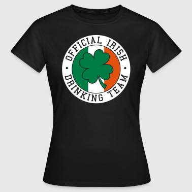 Official Irish Drinking Team  St Patricks day Bier - T-skjorte for kvinner