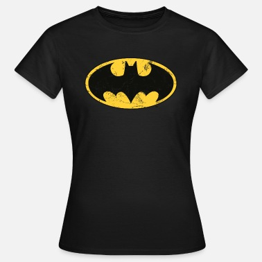 Officialbrands DC Comics Batman Logo Used Look - Frauen T-Shirt