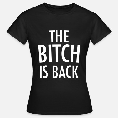 Is Is back - Dame-T-shirt