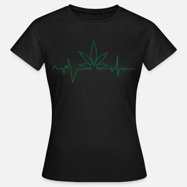 Weed cannabis pulsation - Women's T-Shirt