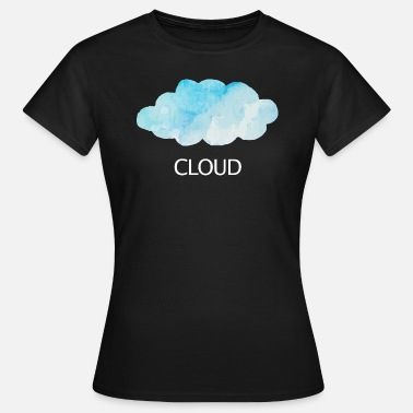 Clouds Cloud cloud sky weather sun clouds clouds - Women's T-Shirt
