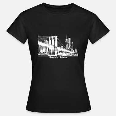 Bridge Brooklyn Bridge Geschenk New York - Frauen T-Shirt