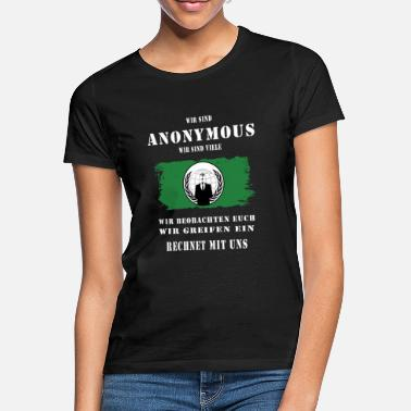 Anonymous Anonymous - Frauen T-Shirt