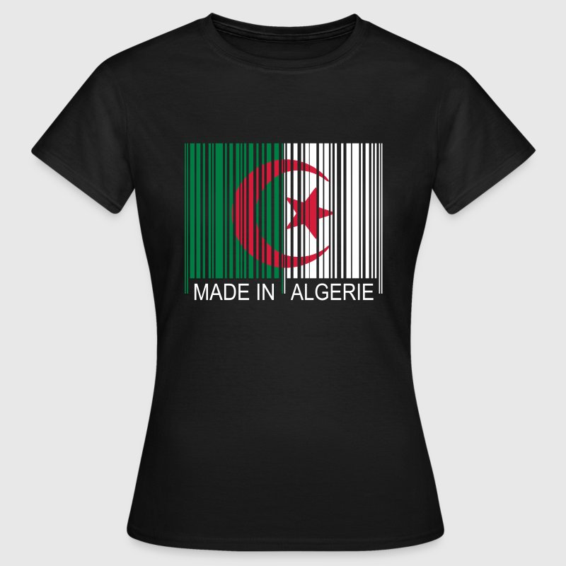 Code barre Made in ALGERIE - T-shirt Femme