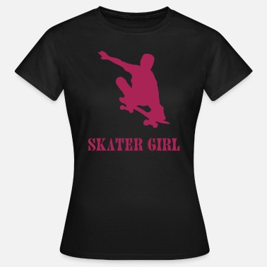 Skater skater girl - Women's T-Shirt