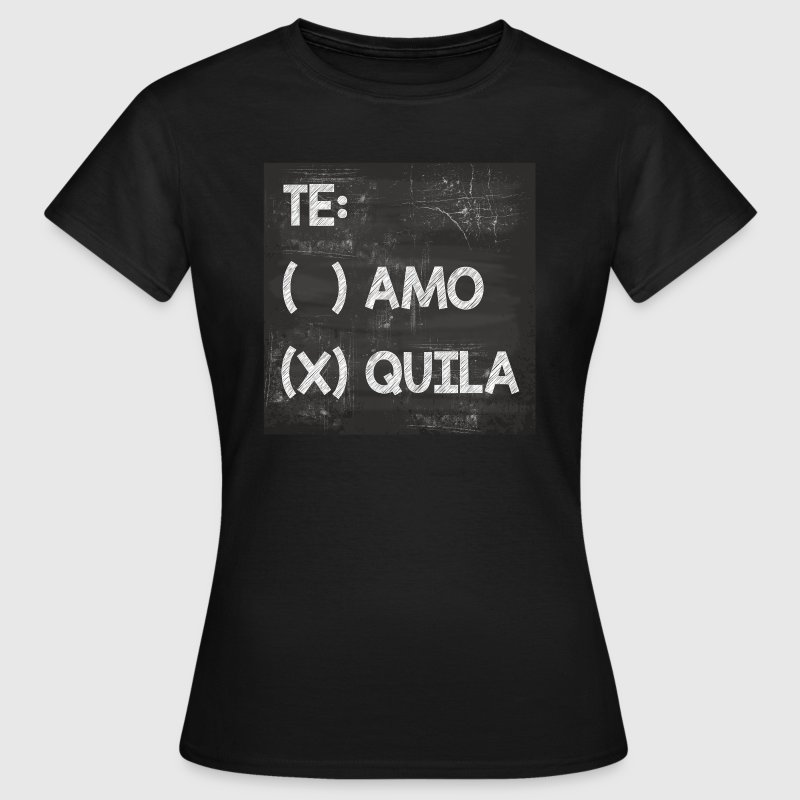 Teamo vs. Tequila - Frauen T-Shirt