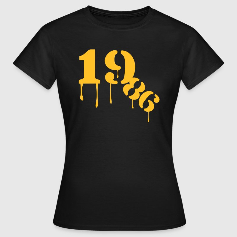 1986_birthday_year - Vrouwen T-shirt