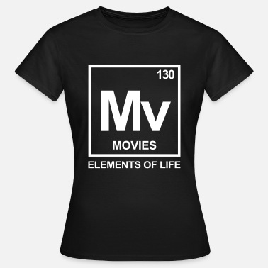 Elements of life: 130 movies - Frauen T-Shirt