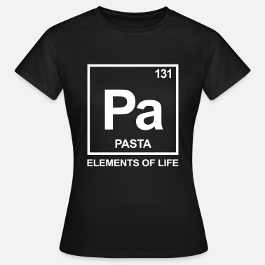 Elements of life: 131 pasta - Frauen T-Shirt