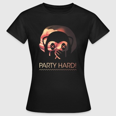 Party Hard! - Frauen T-Shirt
