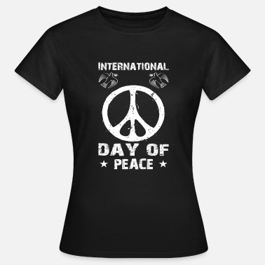 Internationale Spiele International Day of Peace - Frauen T-Shirt