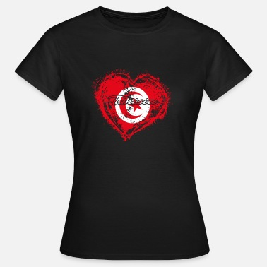 Tunisia HOME ROOTS COUNTRY POISON LOVE Tunisia - Women's T-Shirt